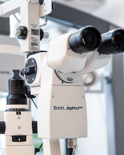 Gerät bei Kribus Augenarzt